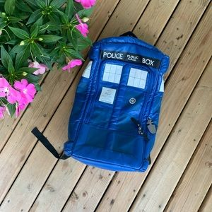 Doctor Who Tardis Backpack 2012